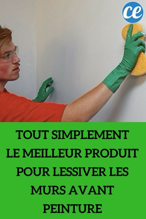 8 best déco images on Pinterest Bathroom, Bathrooms and Getting - Lessiver Un Mur Avant De Peindre