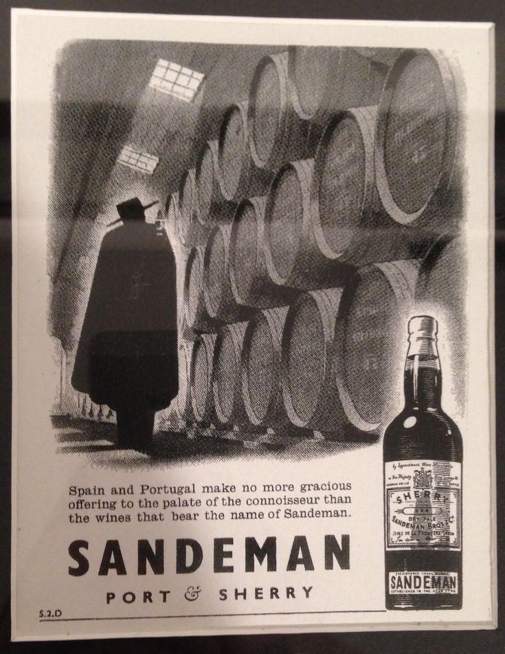 Sandeman: arte en la publicidad.