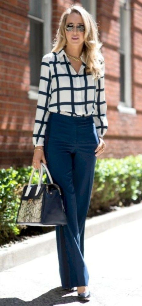 1df29ba15d05 32 Cute and Classy Summer Work Outfits for Business Women | Modern ...