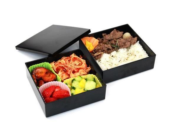 Square Lunch Black & Black