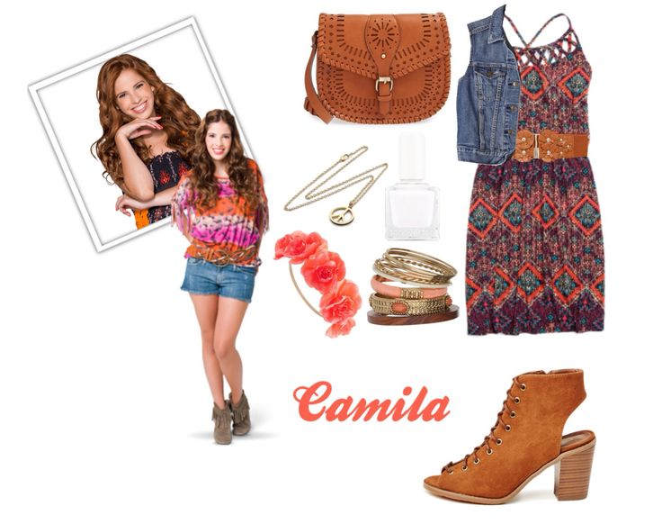 Tenue Camila Violetta Pinterest