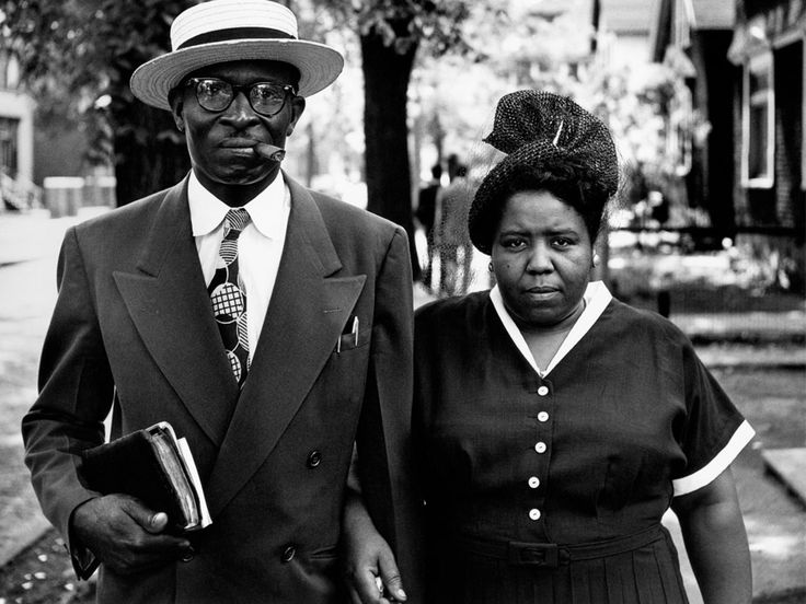 Husband and wife in Detroit, Michigan, 1950 by Gordon Parks