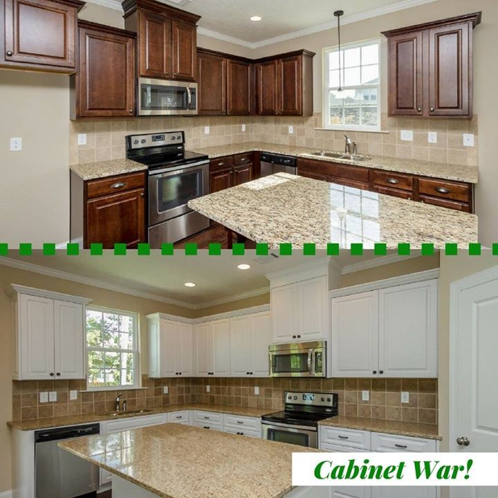 Do You Prefer Light Or Dark Cabinets? #cabinets #kitchen #iveyhomes  #newhome #betterbuilt Ivey Homes Is An Award Winning Locally Owned Augusta  GA ...