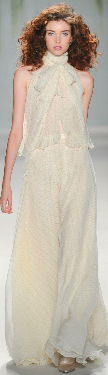 Jenny Packham Spring Summer 2014 Fashion Pinterest Inspiration