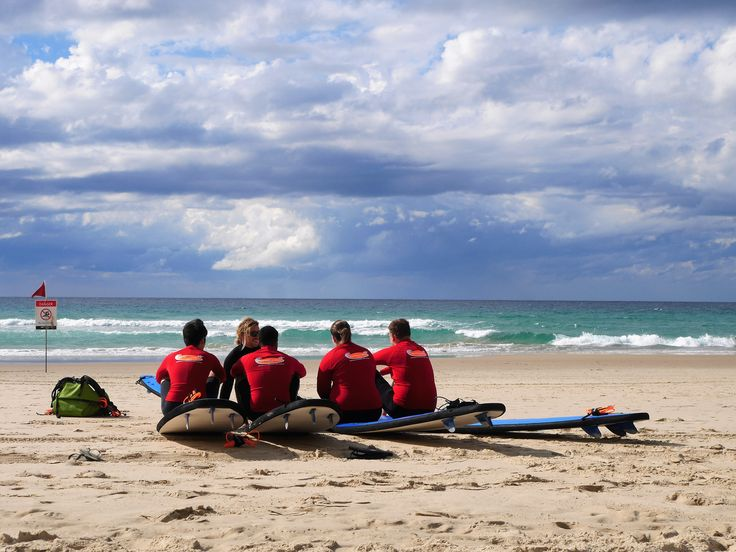 Book a surfing lesson at Surfers Paradise