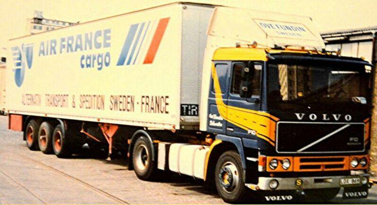 Volvo F10 Air France Cargo Truck