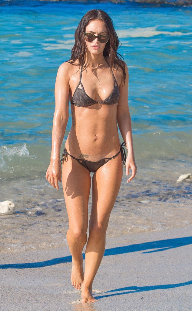 BRB, drooling over Megan Fox's bikini body!