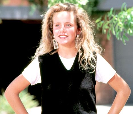 """Young actress Amanda Peterson's biggest credit was """"Can't Buy Me Love"""" opposite Patrick Dempsey in a storyline that would've been called """"Boy Rents Girl."""" Recently she died at the age of 43; her family thinks that her sleep apnea is a contributing factor."""