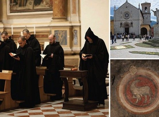 The Monks of Norcia, Italy