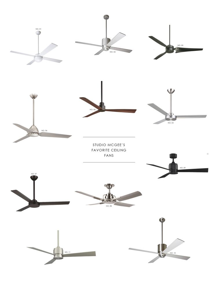 Studio McGee - Click through for a round-up of our favorite ceiling fans!