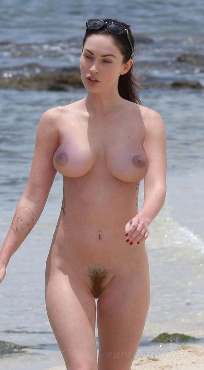 celebrities nude beach