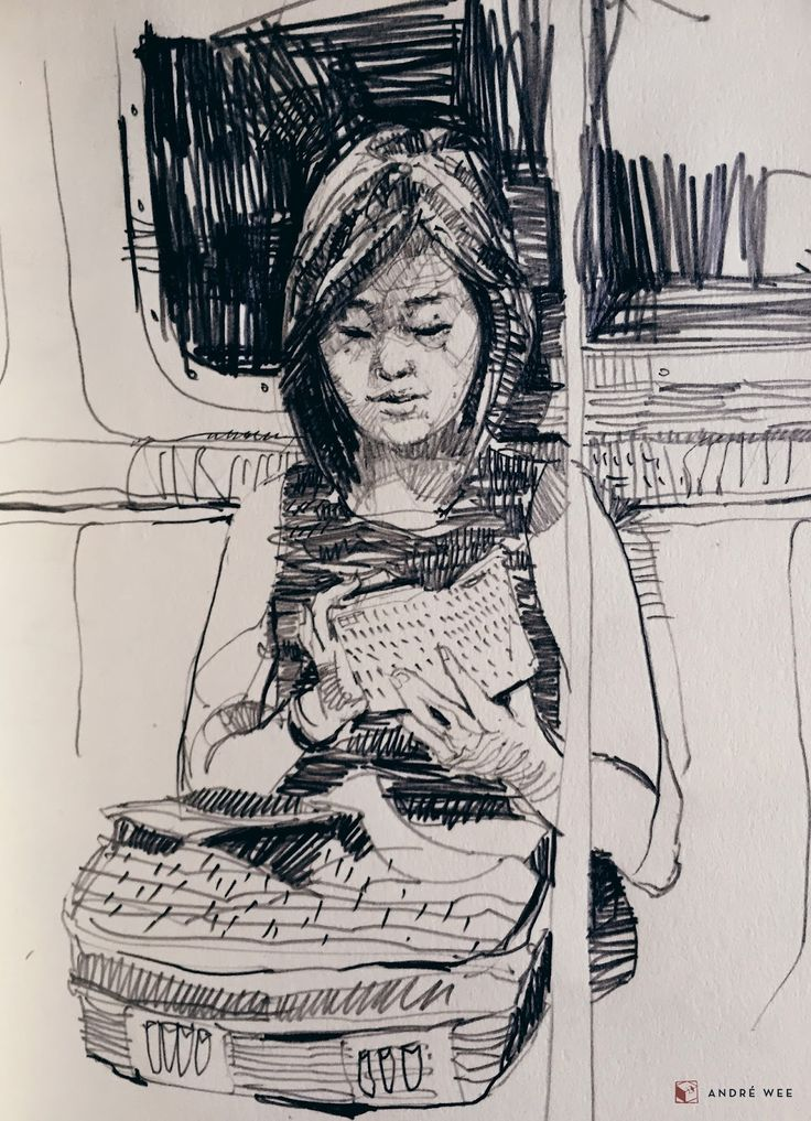 Guest post by André Wee in New York City       Scribbling and dotting into a sketchbook, while trying not to make a scene, has become an ...