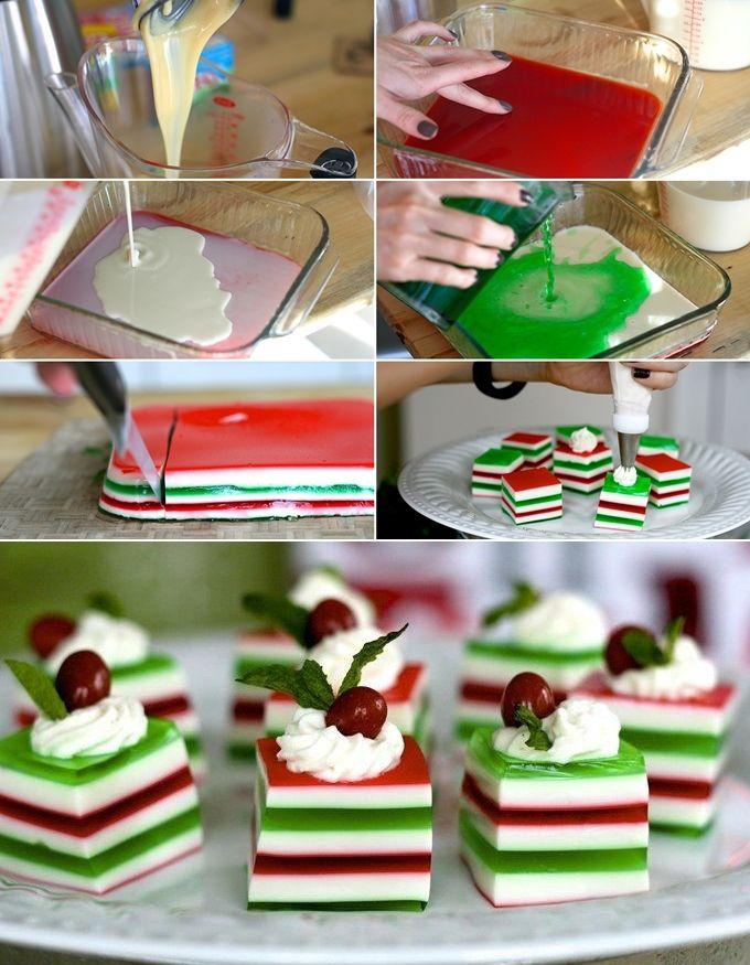 Yummy and Festive Christmas Jelly Shots - http://www.stylishboard.com/yummy-festive-christmas-jelly-shots/