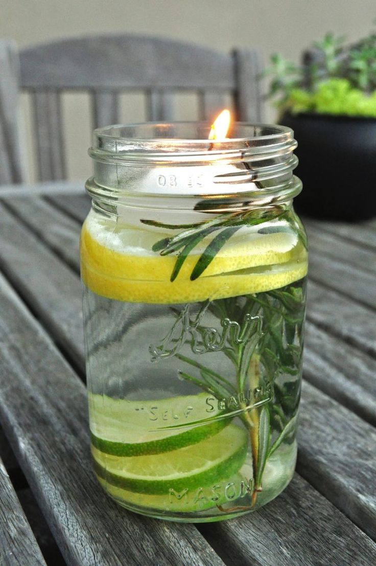 DIY Mosquito Repellent Candle  Debbie Macomber