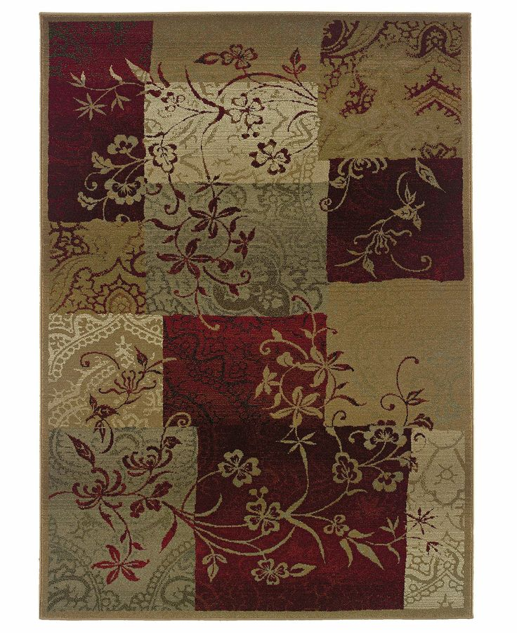 Sphinx Rugs Genesis 80X Patchwork Vines