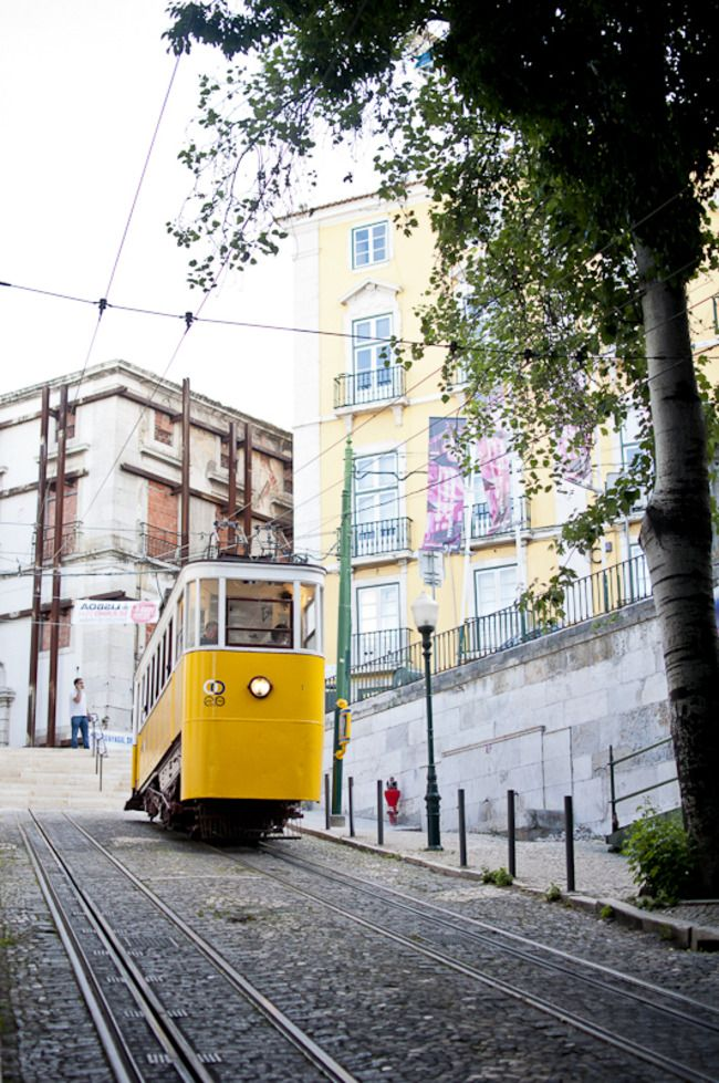 This legendary tram 28 is a tourist attraction in itself. It goes all around town. a MUST...