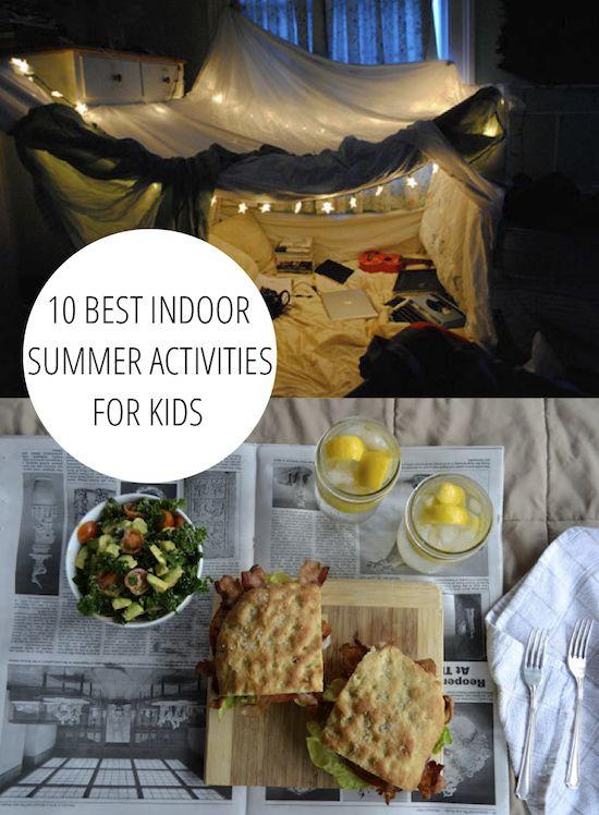 10 best indoor summer activities for kids