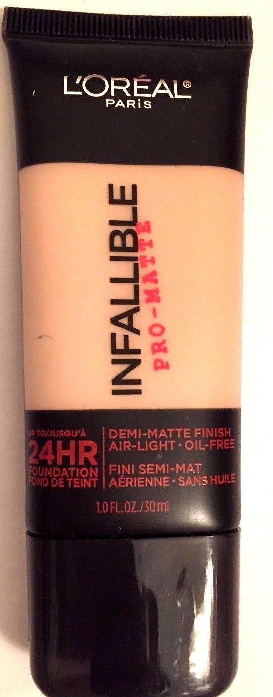 NEW  Loreal-Infallible Pro-Mate  24hr. Foundation # 102 Shell Beige  1 oz