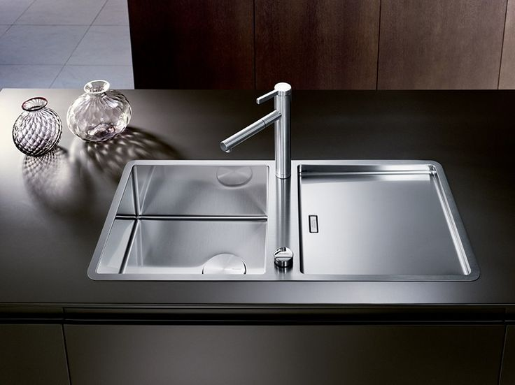 Spülbecken küche edelstahl  Die 25+ besten Spüle edelstahl Ideen auf Pinterest | Sauber ...