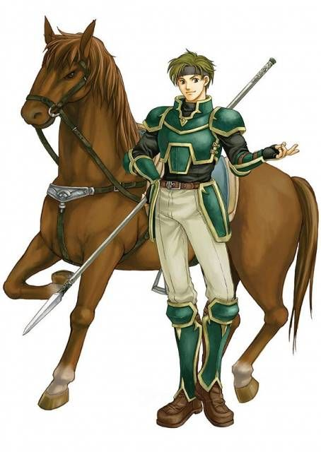 Sain is a woman lover and a mischief maker. He is also the best friend of his fellow knight Kent, and one of the first playable characters in Fire Emblem