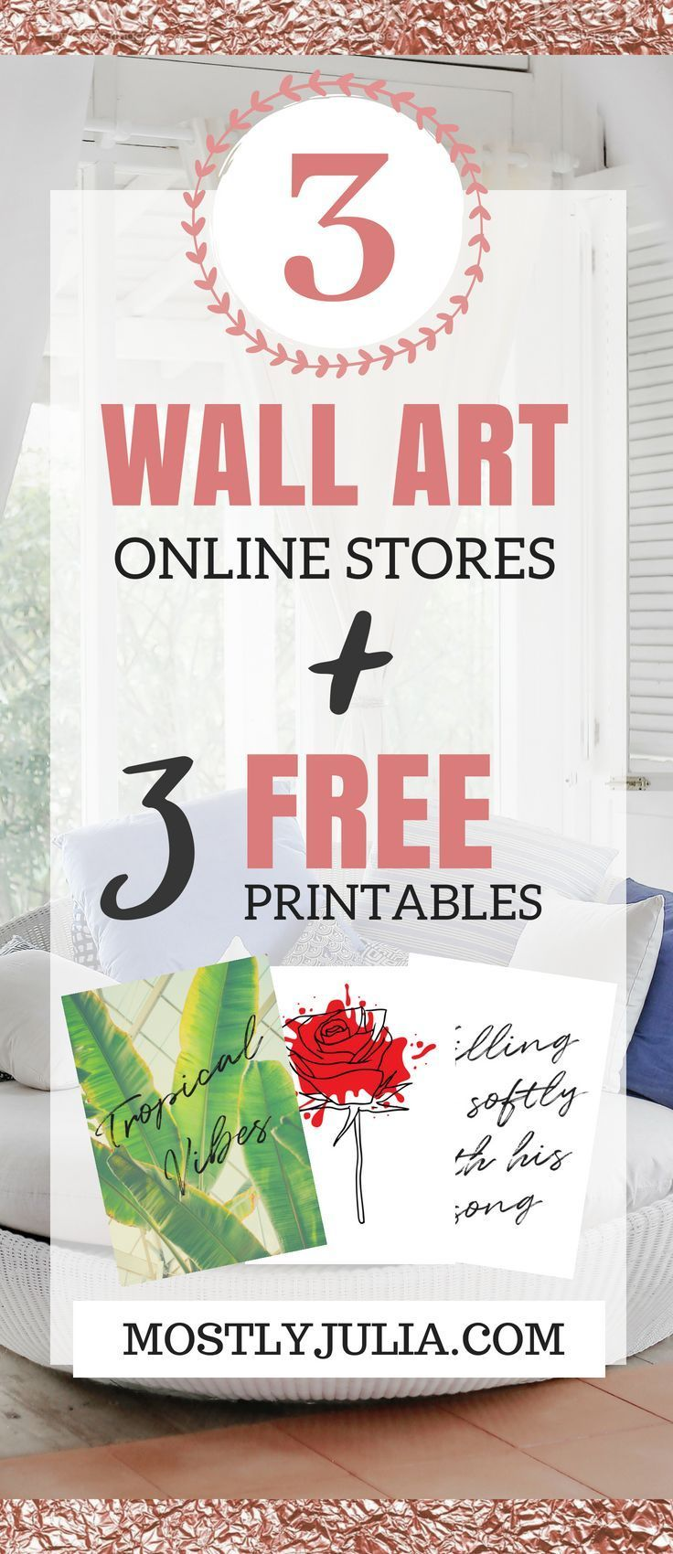 Where to get unique and affordable wall art 3 free wall art printables printable freebies for your minimalist home decor diy prints