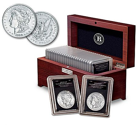 Complete 20th Century U.S. Silver Dollar Coin Collection
