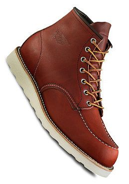 RED WING - Classic Work Moc Toe oro russet portage