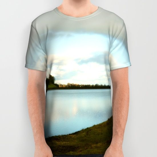 Buy Walking in the lake All Over Print Shirt by haroulita!!. Worldwide shipping available at Society6.com. Just one of millions of high quality products available.