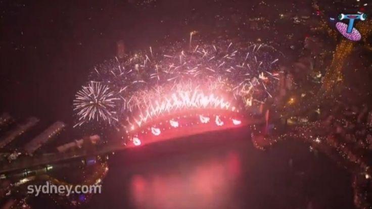 2014 Fireworks: Sydney, Australia (HD) New Year in Australia!