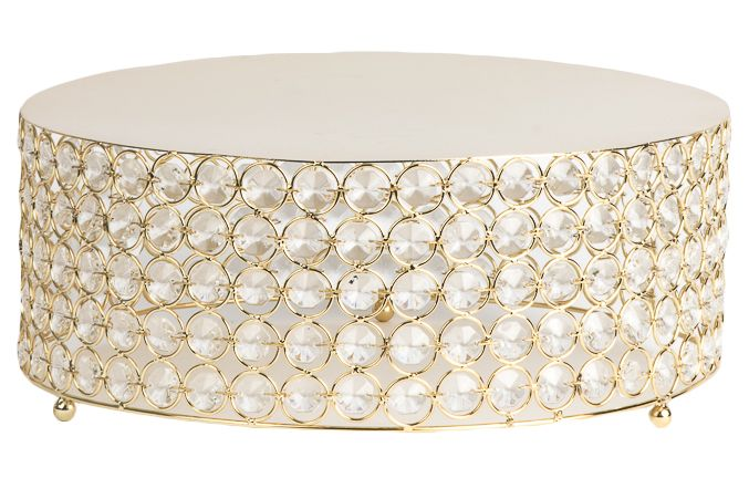 Vidali Collection Crystal Cake Stand