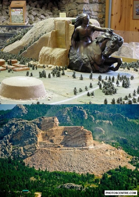 Crazy horse monument - 8 PHOTO!                                                                                                                                                      More