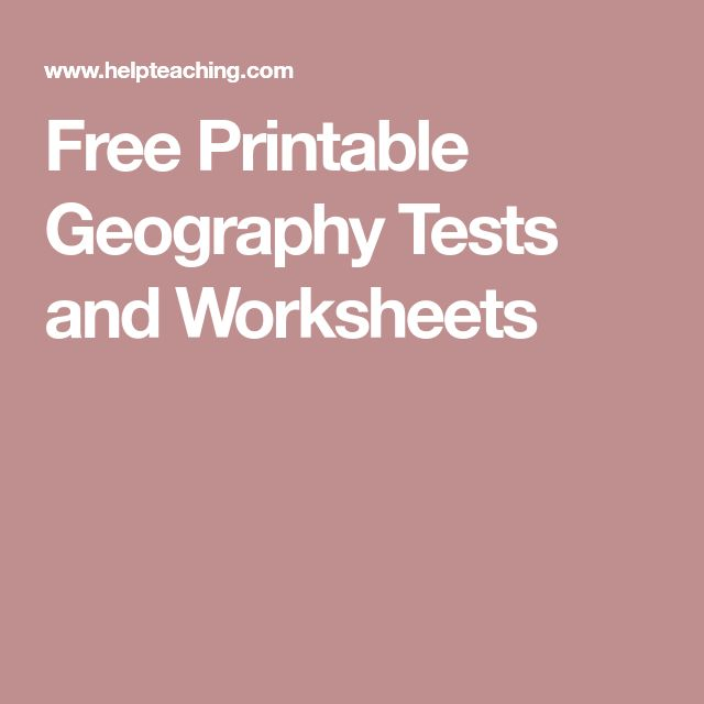 Best 25+ Geography test ideas on Pinterest Geography map quiz - free printable quiz