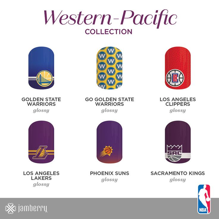 Nba collection by jamberry whos your team