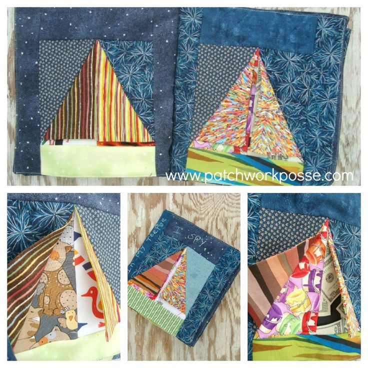 I spy in my teepee quiet book tutorial: http://www.patchworkposse.com/blog/2013/01/teepee-quiet-book-tutorial/#