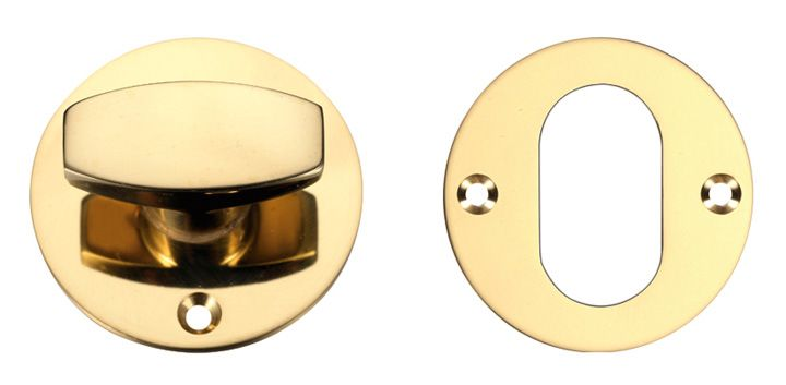 Zoo Brass Thumb Turn for Nightlatch Brass thumb turn and rose to be used in conjunction with a mortice nightlatch. Supplied complete with fixing screws. http://www.MightGet.com/january-2017-12/zoo-brass-thumb-turn-for-nightlatch.asp