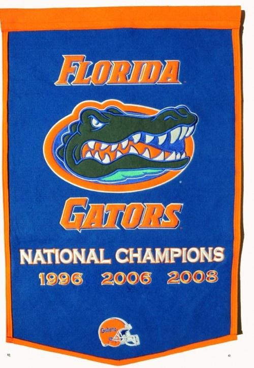 Florida Gators NCAA Football Dynasty Banner