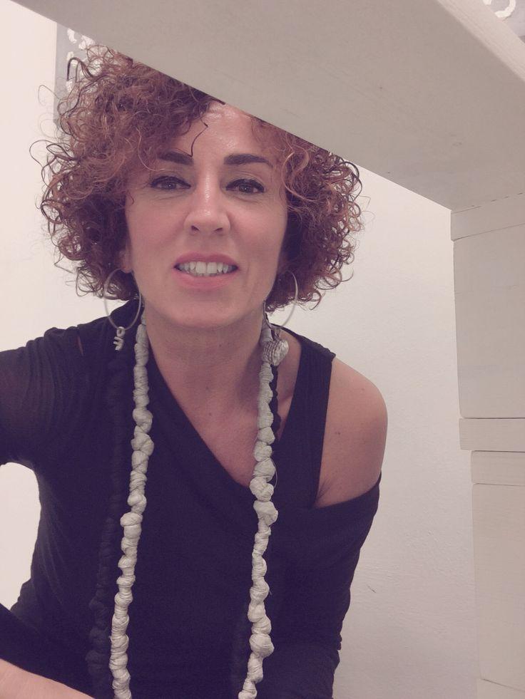 Collane nodi interamente fatte a mano by: Sara Rabà