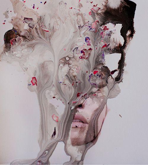 Meltdown - Janus Miralles - i love the use of handmade objects