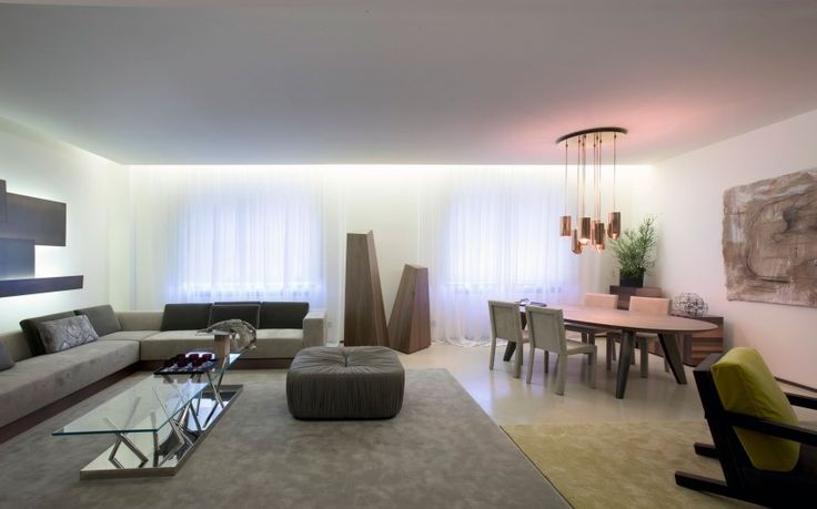 A Warm and Elegant, Lounge Living Project by Bartoli Design