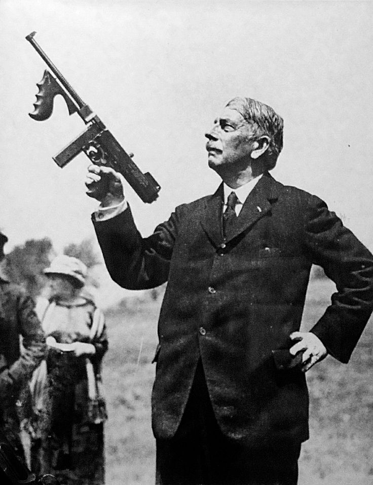 thompson gun inventor | Thompson submachine gun +Search for Videos