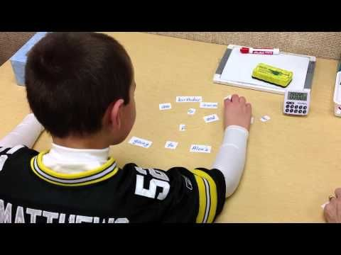 ▶ Cut Up Sentence Component of Reading Recovery - YouTube
