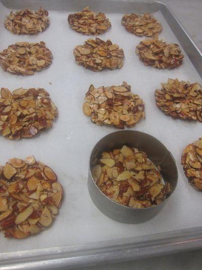 gluten free almond crisps | sarahbeth