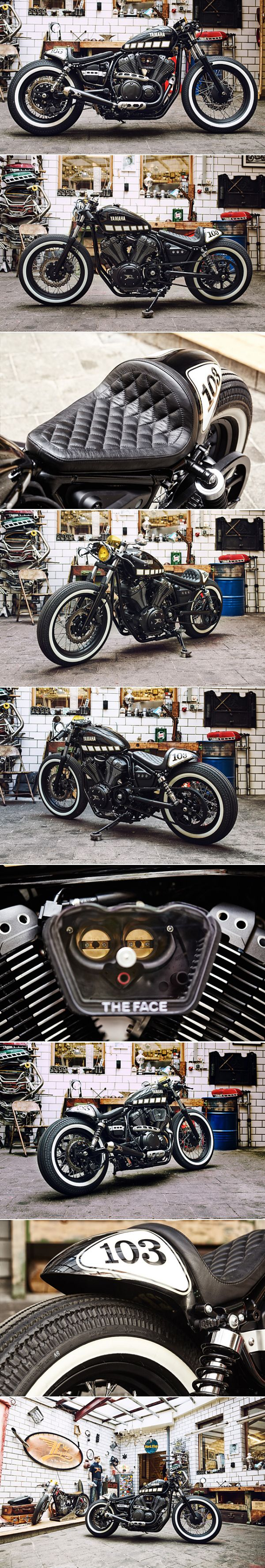 Yamaha XV950 – Kingston Customs