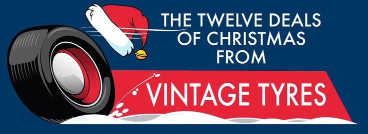 Look forward to great offers from Vintage Tyres throughout December from @VintageTyre incl. 20% off, giveaways and multi-buys. #tyre