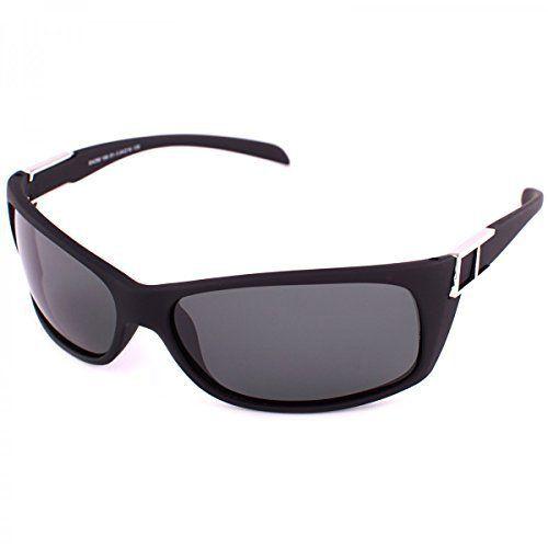 Polarisierend Piloten Sonnenbrille Polbrille Polarizird Aviator New Wayfahrer B540, Rahmenfarbe:Schwarz Matt