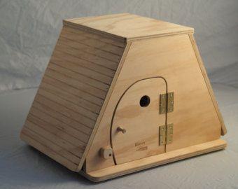 Obertura de KEOPE tamaño XL (gato rasguño puestos con techo de casa)-Blitzen