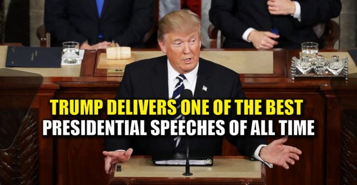 BREAKING : Donald Trump Delivers One of The BEST Presidential Speeches Ever – TruthFeed  3/1/17