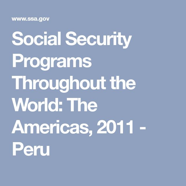 En el Perú, los empleados de los sectores públicos y privados pueden elegir uno de los dos tipos de seguro social para la jubilación. SNP es una cuenta a través del empleador, mientras que SPP es una cuenta individual.