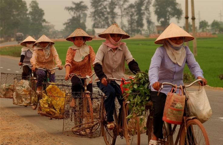 North Vietnamese workers, Vietnam
