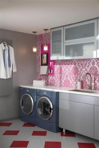 ma future salle de lavage, yeah!